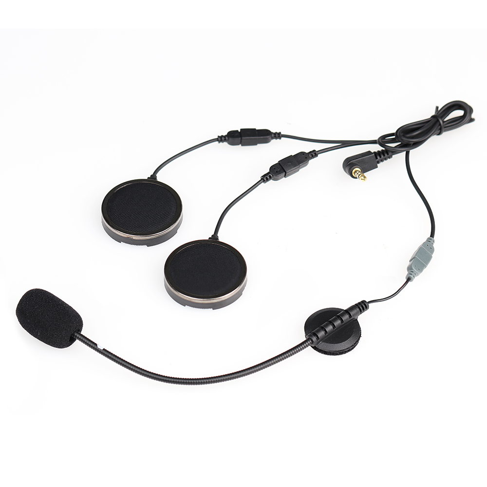 Offcial Helmet Headset With Foam Speaker Covers Microphone Sponges For EJEAS Quick 20