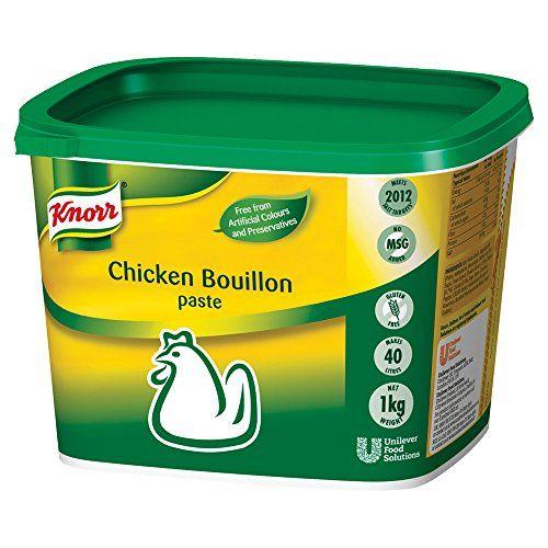 Knorr Gluten Free Chicken Paste Bouillon, 1 Kg