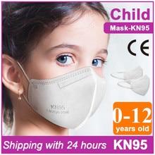 FFP2 Kid Masks KN95 Children's masque Reusable Child Protective Face Mask Filter Respirator White Mouth mascarillas FFP2 Kids