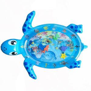 Cama de tortuga flotante inflable para niños, juguete de agua, flotador, colchón de aire inflable para fiesta de natación