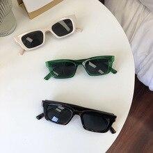 Vintage Sport Stil Polarisierte Sonnenbrille Fahren Reise Quadrat Rechteck Sonnenbrille Shades Für Frauen Weiß Schwarz Brillen Uv