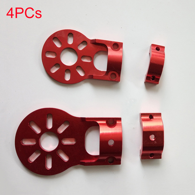 4PCS 12mm 16mm Motor Fixture Mount Fixed Base Seat Holder Bracket for Carbon Tube RC Quadcopter Multicopter Drone Spare Parts