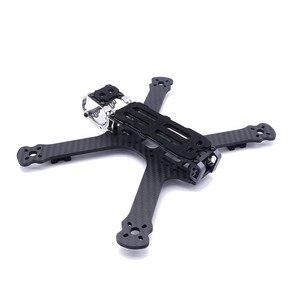 Fonster Tasso CC5 236 millimetri 5 pollici Kit Telaio In Fibra di Carbonio 4 millimetri Piastra Inferiore Kit Per Freestyle FPV Da Corsa drone Quadcopter RC Parti(China)