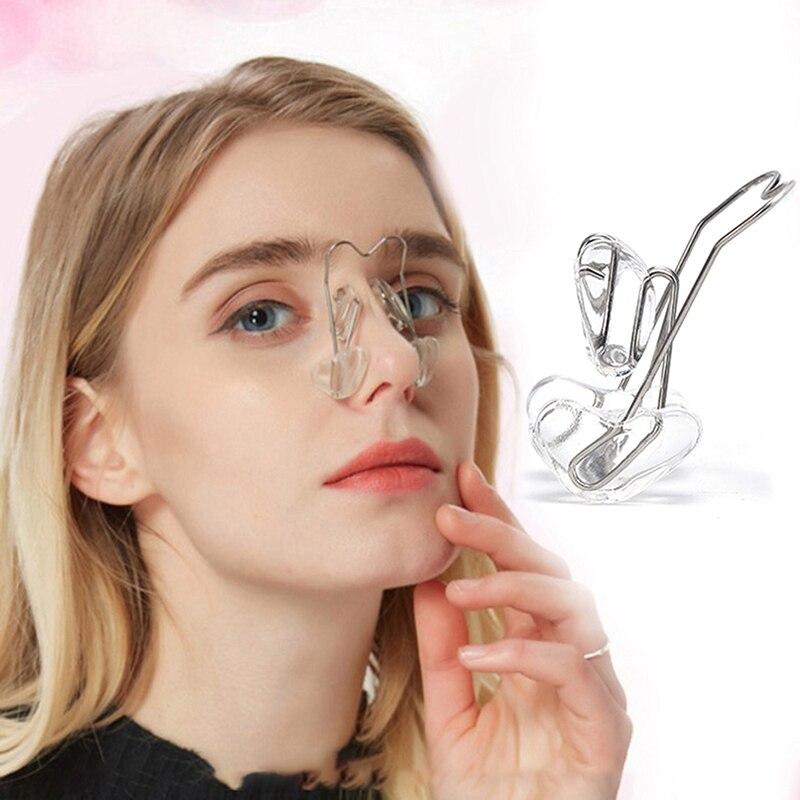 Поднятие носа Формирование формирователь ортопедии зажим Красота нос массажер для похудения выпрямления зажимы инструмент нос клип корре...