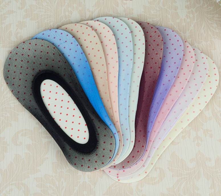 USUS-B9 Women Silk Socks Shallow Mouth Stealth Candy Color Socks