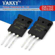 6PCS 2SA1943 TO 3P 2SC5200 TO 3PL = 3pair ( 3PCS C5200 + 3PCS A1943)