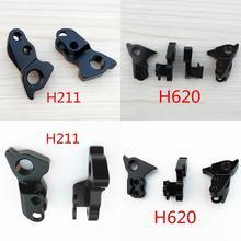 цена на 2pcs CNC Bicycle gear rear derailleur hanger dropout For Kinesis dropout #15 KONA #V5TT KONA PROCESS PRECEPT VITUS Zenium frame