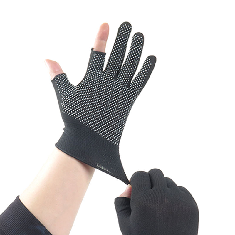 3pairs/set Two-finger <font><b>Gloves</b></font> <font><b>Cycling</b></font> <font><b>Special</b></font> <font><b>Gloves</b></font> Ultra-thin Elasticity Nylon <font><b>Gloves</b></font> Breathable Sweat Bicycle <font><b>Cycling</b></font> E11008 image