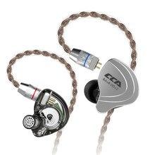 Dropshipping CCA C10 4BA + 1DD Hybrid In Ear auricular HIFI DJ Monitor auricular correr auriculares deportivos