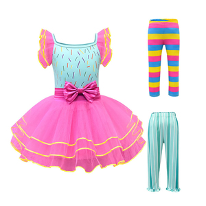 Image 1 - Baby Girl Nancy Dress Up Dresses Kids Fancy Nancy Ball Gown Flying Sleeve Tutu Frock Pants Sets Small Child Summer Casual Outfit