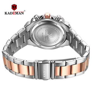 Image 2 - 2020 New Fashion Female Business ladies watch Full Steel Luxury Ladies Wristwatches TOP Quality Brand Design Women Watches 3ATM