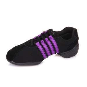 Image 5 - Dance Sneakers For Women Girls Sports Modern Dance Jazz Shoes Lace Up Lightweight Breath Fitness Trainers Practice Shoes