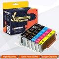 5 шт. чернильный картридж для PGI-580 CLI-581 PGI580 CLI581 совместимый для Canon PIXMA TR7550 TR8550 TS6150 TS6151 TS6152 принтер