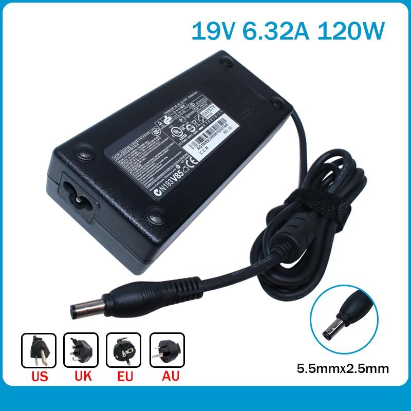19V 6.3A 120 Вт ноутбук AC адаптер питания зарядное устройство для ноутбука Toshiba PA3717E-1AC3 PA3290E-3ACA PA3290U-3AC3 PA3717U-1ACA PA5083A-1AC3
