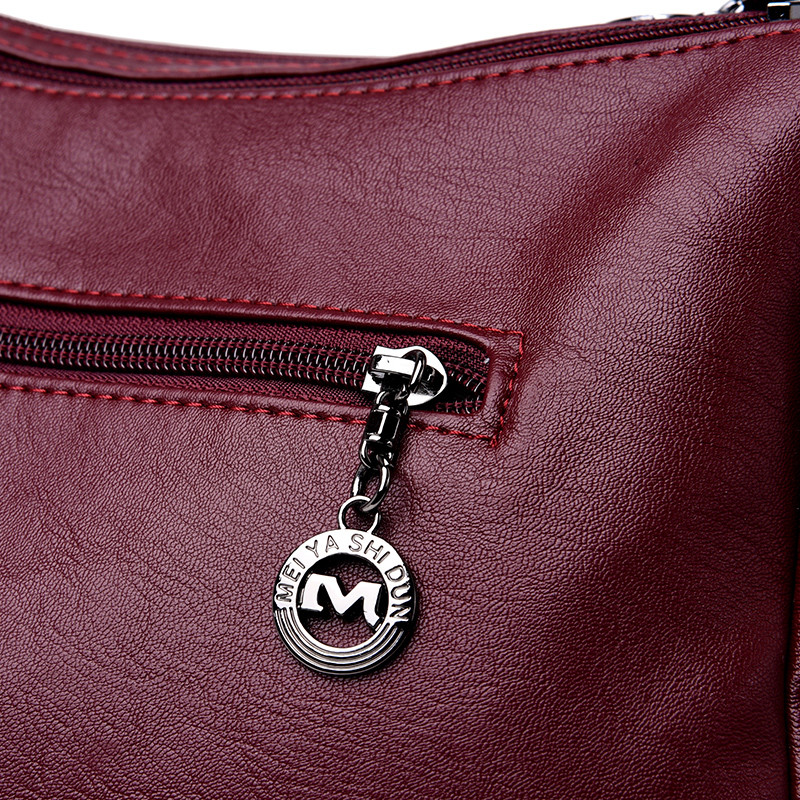 Handbag Leather bolsa Messenger 26