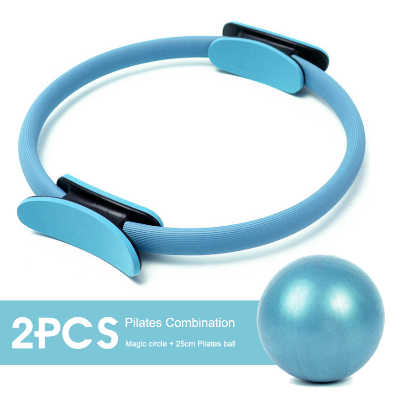 4Color Yoga Pilates Ring With High Density EVA Comfortable Material For Women Fitness 2