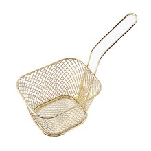 Mini Stainless Steel French Fries Net Fry Fryer Basket Small Square Shape French Fries Baskets Strainer Kitchen Cooking Tools brennan jobs l small fry