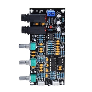 Image 5 - XH M273 PT2399デジタルマイクアンプボード残響リバーブアンプNE5532プリアンプトーンボード