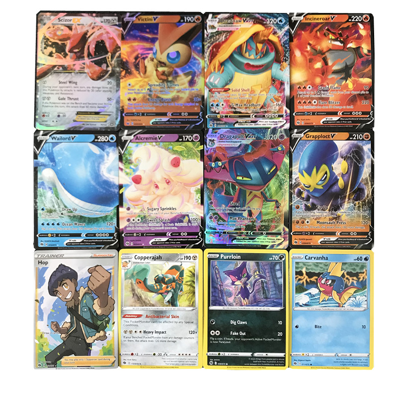 324pcs Pokemon Cards Box TCG Sun Moon Evolutions Champion Path Pokemon Booster Box Pokemon Game Toy