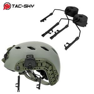 Image 1 - Military tactics Peltor helmet ARC OPS CORE helmet track adapter headphone bracket and fast action core helmet rail adapter   BK