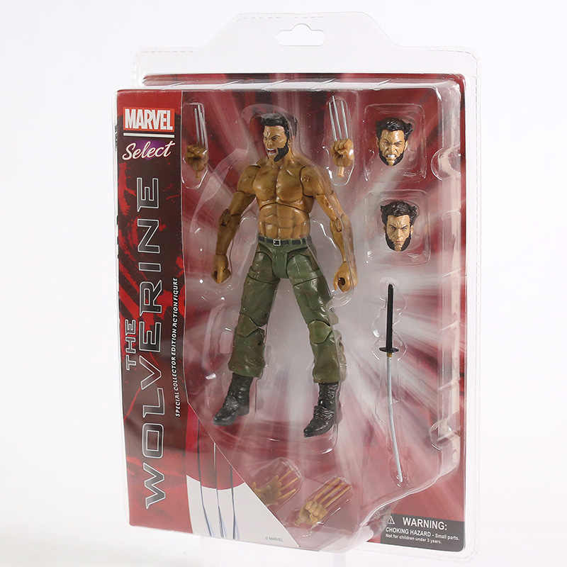 Marvel x-men Wolverine Logan pcv figurka Marvel wybierz Model figurki zabawka