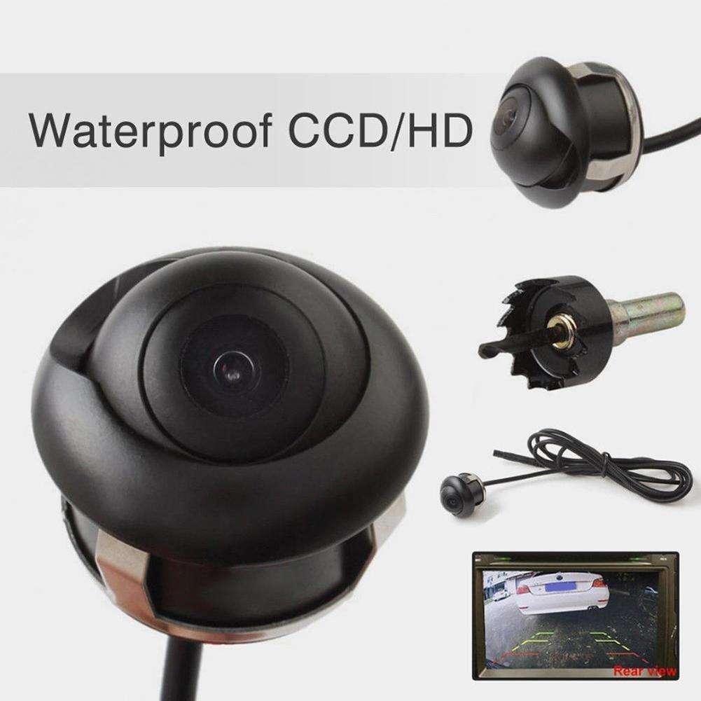2020 New 720x540 360 Degree Waterproof HD Car Rear View Reverse Night Vision Back Parking Camera 24mm x 22mm