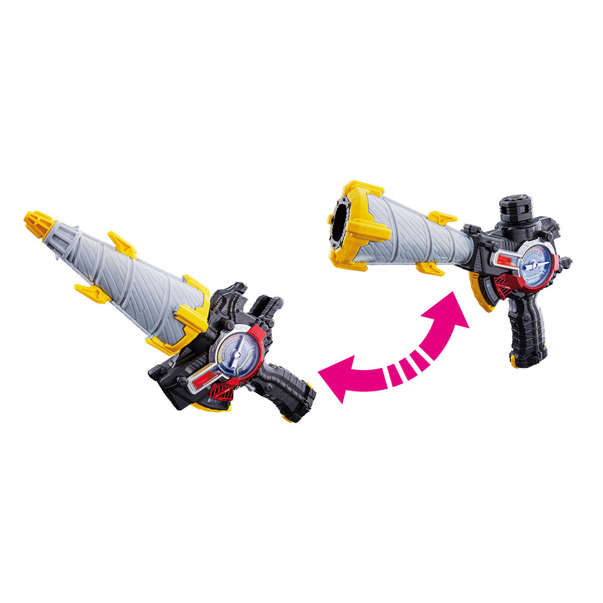 Image 4 - Kamens Rider Build Drill Smasher DX Weapon Can Be Linked with Full Bottle Action Figure Christmas Gift for ChildAction & Toy Figures   -