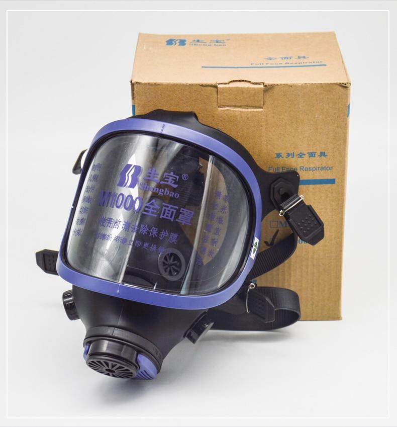 facial completa respirador de vapor orgânico m1000