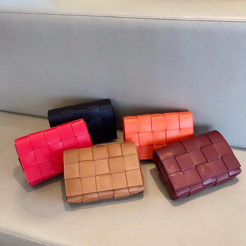Kafunila Genuine Leather Bags For Women 2019 Luxury Handbags Women Bags Designer Famous Brand Cassette Bag Flap Bolsa Feminina