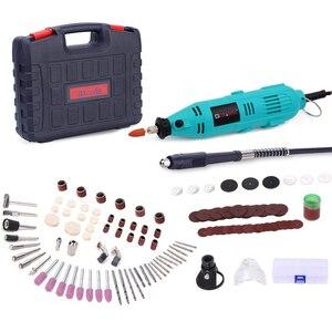 Image 1 - Goxawee broca elétrica mini ferramenta rotativa moedor gravador caneta elétrica ferramenta rotativa para dremel máquina de moagem ferramentas elétricas