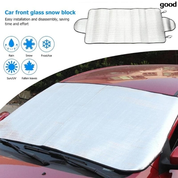 Winter Car Auto Windshield Snow Ice Shield Cover Front Window Windscreen Sunshade Covers Sun Shade Guard Protector image