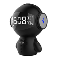 Robot Shape Wireless Bluetooth Speaker Support Mini Karaoke Mobile Power FM Portable Charging Audio Design portable speaker USB