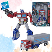 Transformers-Toys Generations Hasbro Earthrise Optimus Prime Robot Toy Cybertron War