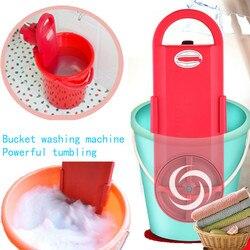 Goedkope Draagbare Mini Wasmachine Muur Opknoping Mini Emmer Kleren Wasmachine Timing 15 Min Snelle Power Wassen 220V