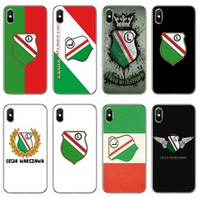 Legia Warsaw Warszawa Poland Phone Case Back Cover For iPhone 11 Pro XS Max XR X 8 7 6 6S Plus 5 5S SE 4s 4 iPod Touch(China)