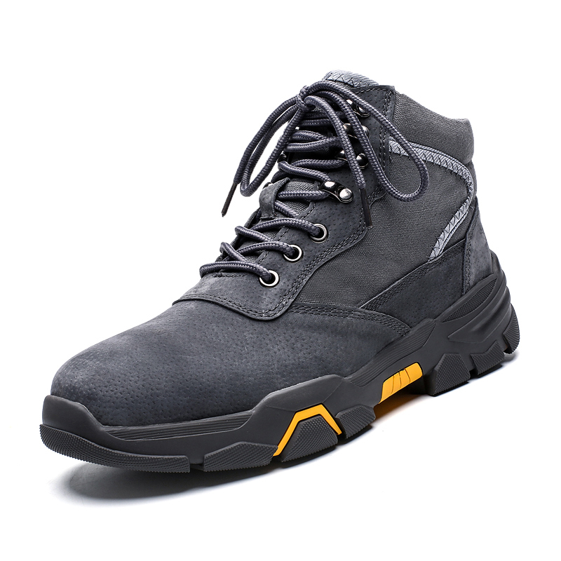 Hot Sale Army Boots Men Ankle Winter Warm Leather Hiking Boots Men Military Footwear Comfortable High Top Shoes Plus Size 2019