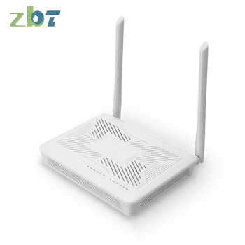 Zx279127 Solution Smart Home Wireless WiFi Routing Optical Modem All-China Netcom Wireless Optical Modem All-in-One Machine 4 port gigabit home terminal broadband terminal fiber optic module 4g home routing all in one machine optical modem gpon