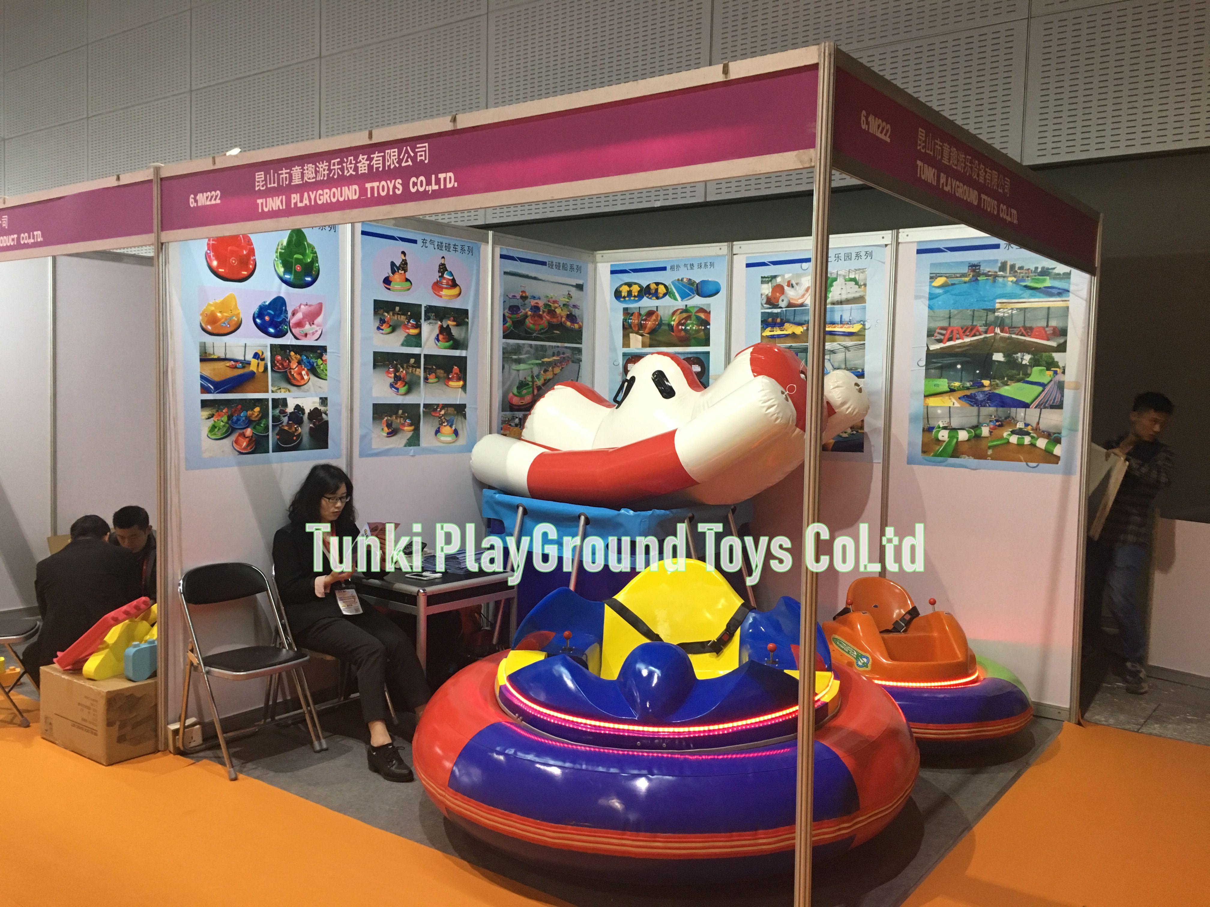 Theme Park Ice Battery Electric Inflatable Dodgem Medium Normal Bumper Car