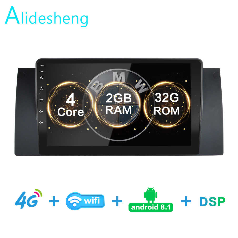 2GRAM + 32GROM Per BMW E39 E53 X5 M5 DSP 2 din Android 8.1 4G Auto NETTO radio Multimedia Video Player BT FM AM