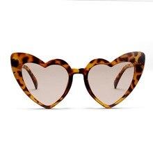 Heart Sunglasses Women brand designer Cat Eye Sun Glasses Retro Love Heart Shaped Glasses Ladies Shopping Driver Goggles