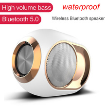 Portable Subwoofer Wireless Bluetooth 5.0 Speaker Music Surround Loudspeake With Mic for Laptop Phone TF Card USB stick AUX цена 2017