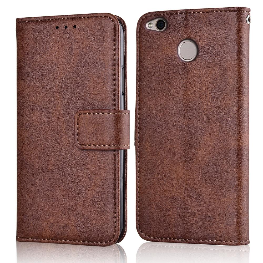 Чехол-бумажник для Xiomi Redmi 4X, кожаный