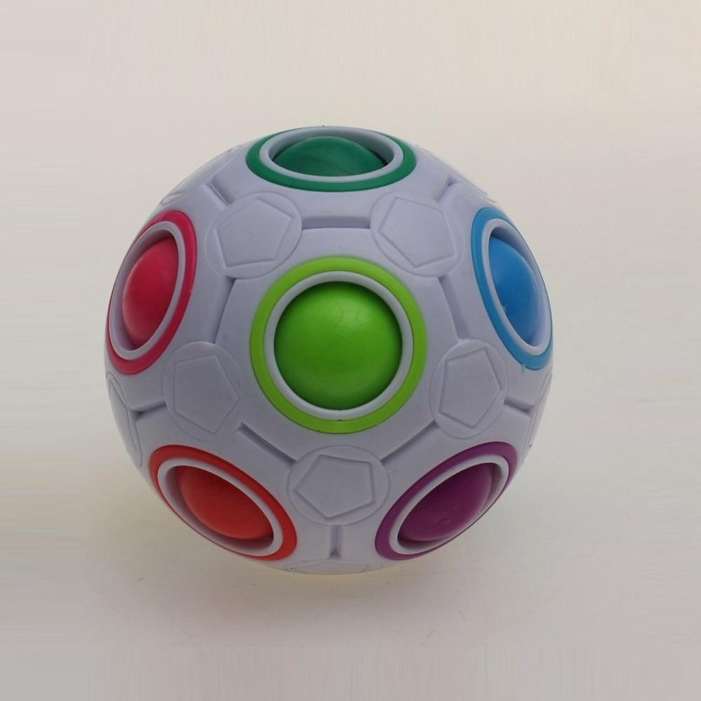 Toys Puzzle Ball-Antistress Montessori Magic-Cube Football Rainbow Creative for Children img2