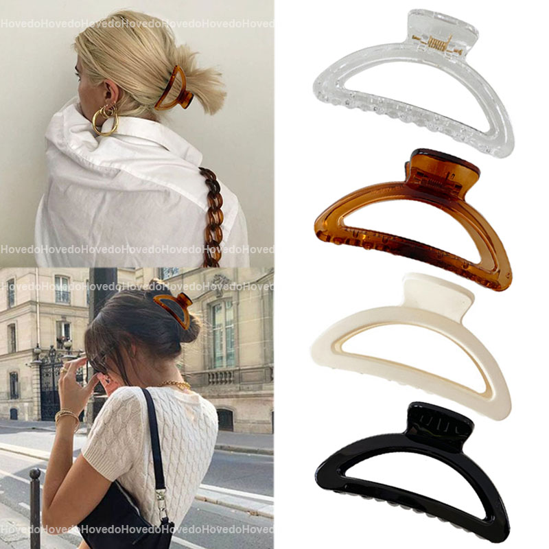 Hair Claws Barrette Crab Girls Simple-Style Women Gifts