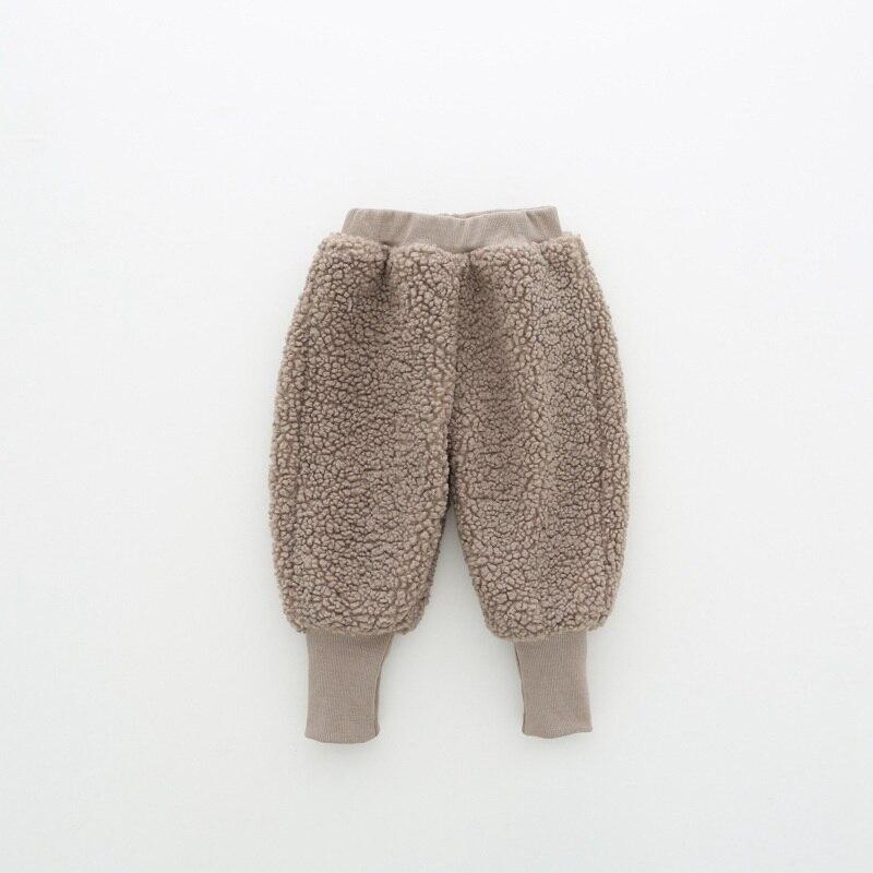 COOTELILI Winter Fleece Baby Girls Pants Trousers Baby Boys Pants warm Leggings Trousers For Girl Kids Girls Velvet Pants  (7)
