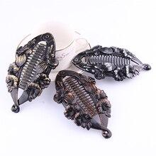 1 Pcs Hair Claw Clips Hair Jewelry Fish Shape banana hair clip Hairpins Hair Accessories for Women Clamp