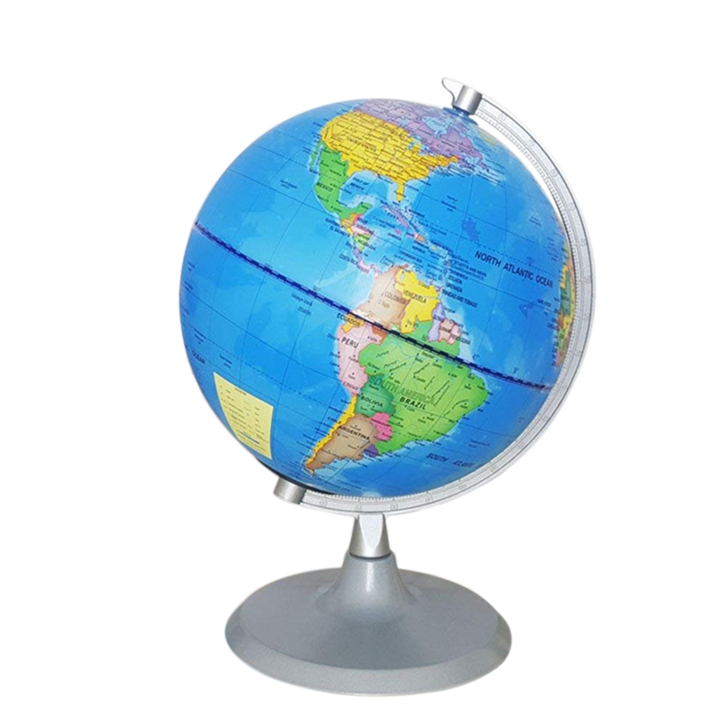 World Globe Constellation Globe with Detailed World Map for Kids Educational Interactive Astronomy Geographic Map Globe