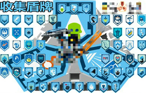Image 3 - Nexoe فرسان الدروع النادرة نموذج اللبنات القلعة المحارب نيكزس Scannable لعبة لعب للأطفال
