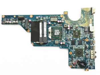 laptop Motherboard for hp pavilion g4 g6 g7 649950-001 DA0R23MB6D1 Main Borad Socket fs1 HD 6470 + Free cpu