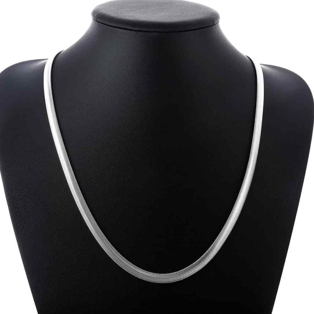 INALIS zarif moda gümüş kaplama yılan şeklinde kolye trend 2020 yeni kişilik yıldönümü göndermek için arkadaşlar doğum günü gi